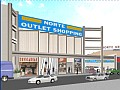 Shopping center | Maquete eletr�nica