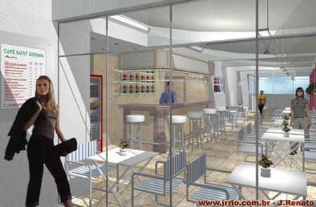 Caf 233 Bar Projeto Em Maquete Eletr 244 Nica