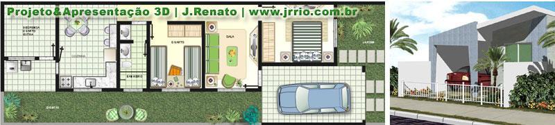 Casa ig planta e fachada 800 180 projetos for Fachadas de apartamentos pequenos