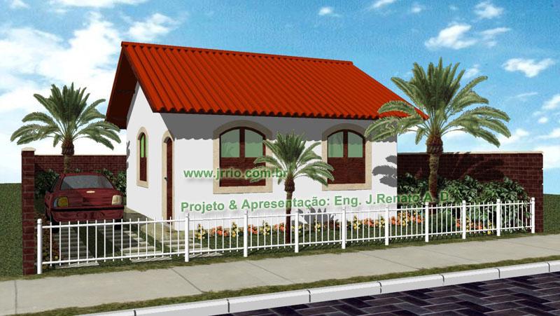 Casa popular 2 quartos e cozinha americana for Casa popular